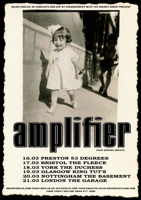 AMPLIFIER-POSTER