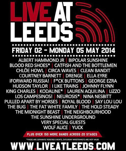 Live At Leeds 2014 comp 600